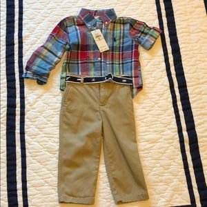 Ralph Lauren shirt & pants